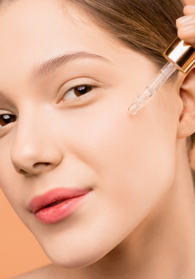 Image of woman with serum