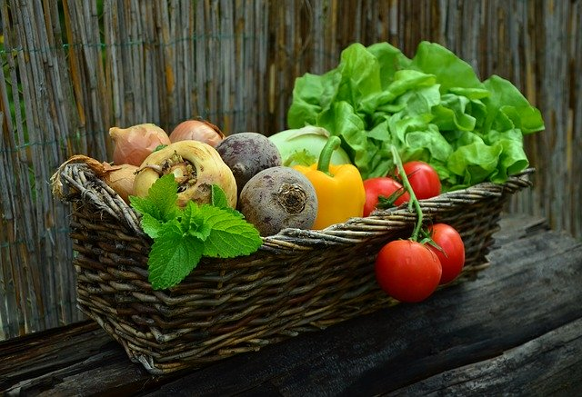image of a fruit and vegetable basket